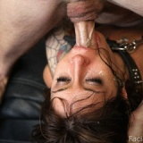 Sasha Sweet eats cum like a snack